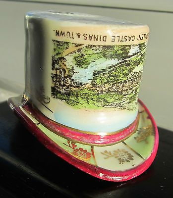 Antique  top hat #souvenir #llangollen gemma #porcelain czech match holder/strike,  View more on the LINK: 	http://www.zeppy.io/product/gb/2/221901303110/