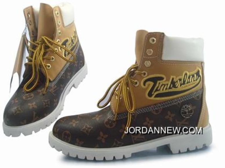 Timberland Men 6 Inch Boots Wheat Pattern Chocolate Discount