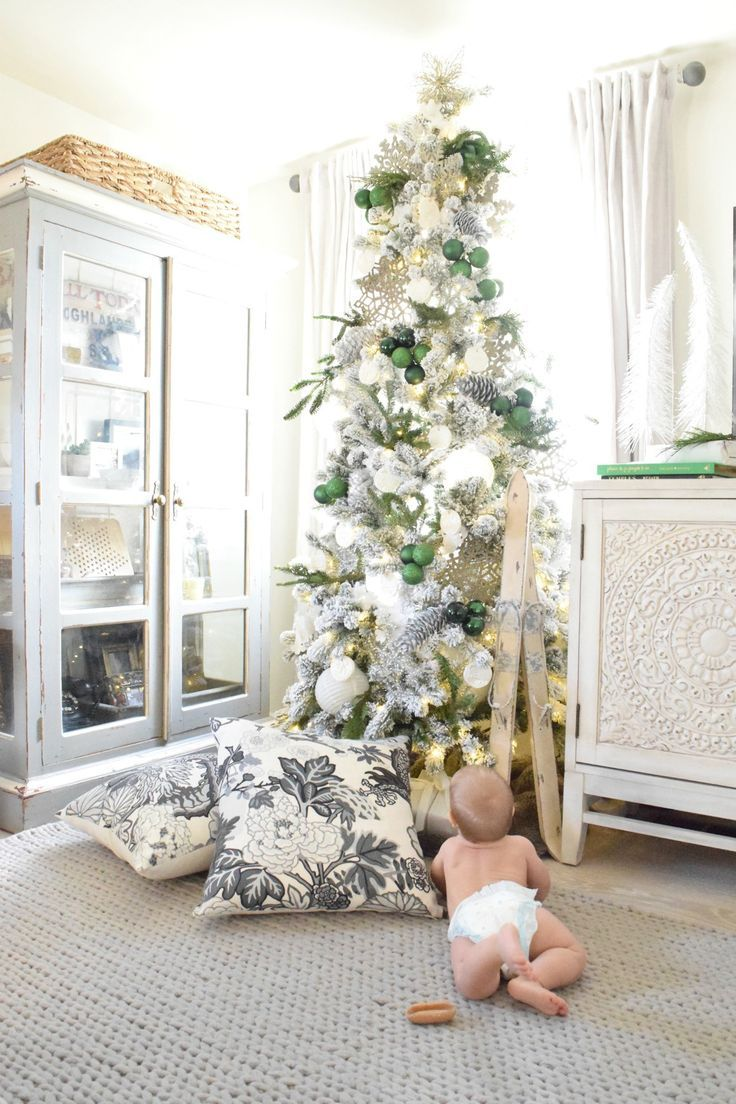 Christmas Home Tour- Part II | Small spaces, Christmas décor and ...