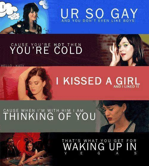 Katy Perry-Singles From Her First Album