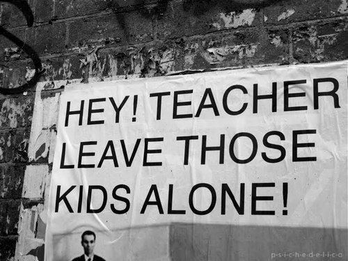 another brick in the wall education F c dm all in all it's just another brick in the wall all in all you're just another brick  in the wall dm we don't need no education we don't need no thought control.