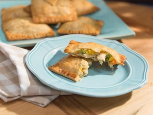 Chicken pot pie pockets most searched comforting classics jeff get chicken pot pie pockets recipe from food network easy to swap veg ingredients and super easy to make with store bought ingredients forumfinder Image collections