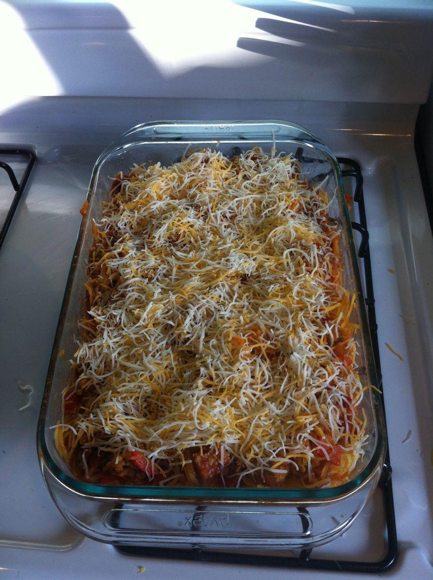 gluten free spaghetti squash