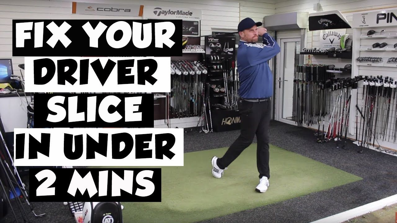 How to fix a golf slice with driver in under 2 minutes