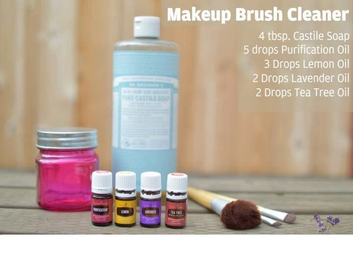 Photo of Makeup brush cleaner with young living oils#brush #cleaner #living #makeup #oils…
