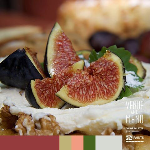 PISTACHIO, WALNUT AND FIG TORTA with Mascarpone and Fresh Figs