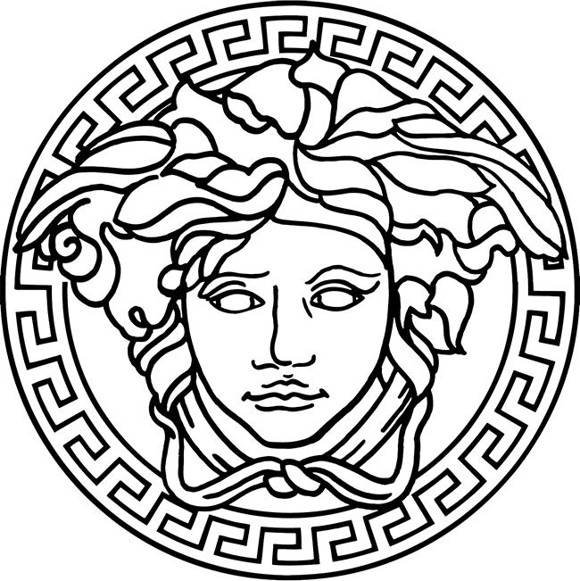 Medusaversace Png 650 651 Versace Tattoo Versace Logo Logo Design