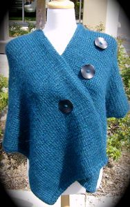 be797d3dc 27 Knit Poncho Patterns to Keep You Cozy | Knitting Patterns ...