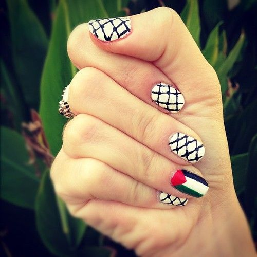 palestine nails beauty pinterest palestine. Black Bedroom Furniture Sets. Home Design Ideas