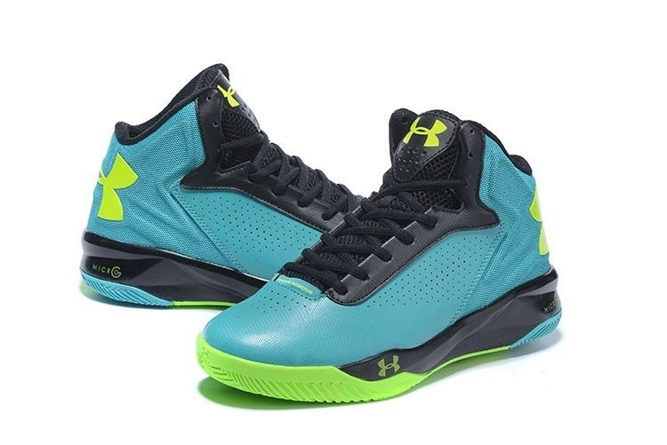 online store f7698 7111f Men s Under Armour UA Micro G Torch Basketball Shoes Green Black Lime