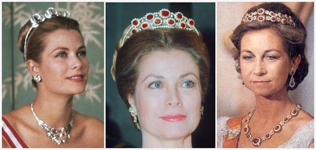 sin impuesto de venta nueva llegada gran descuento Princess Grace(Monaco) in the Bains de Mer Tiara, and in a ...