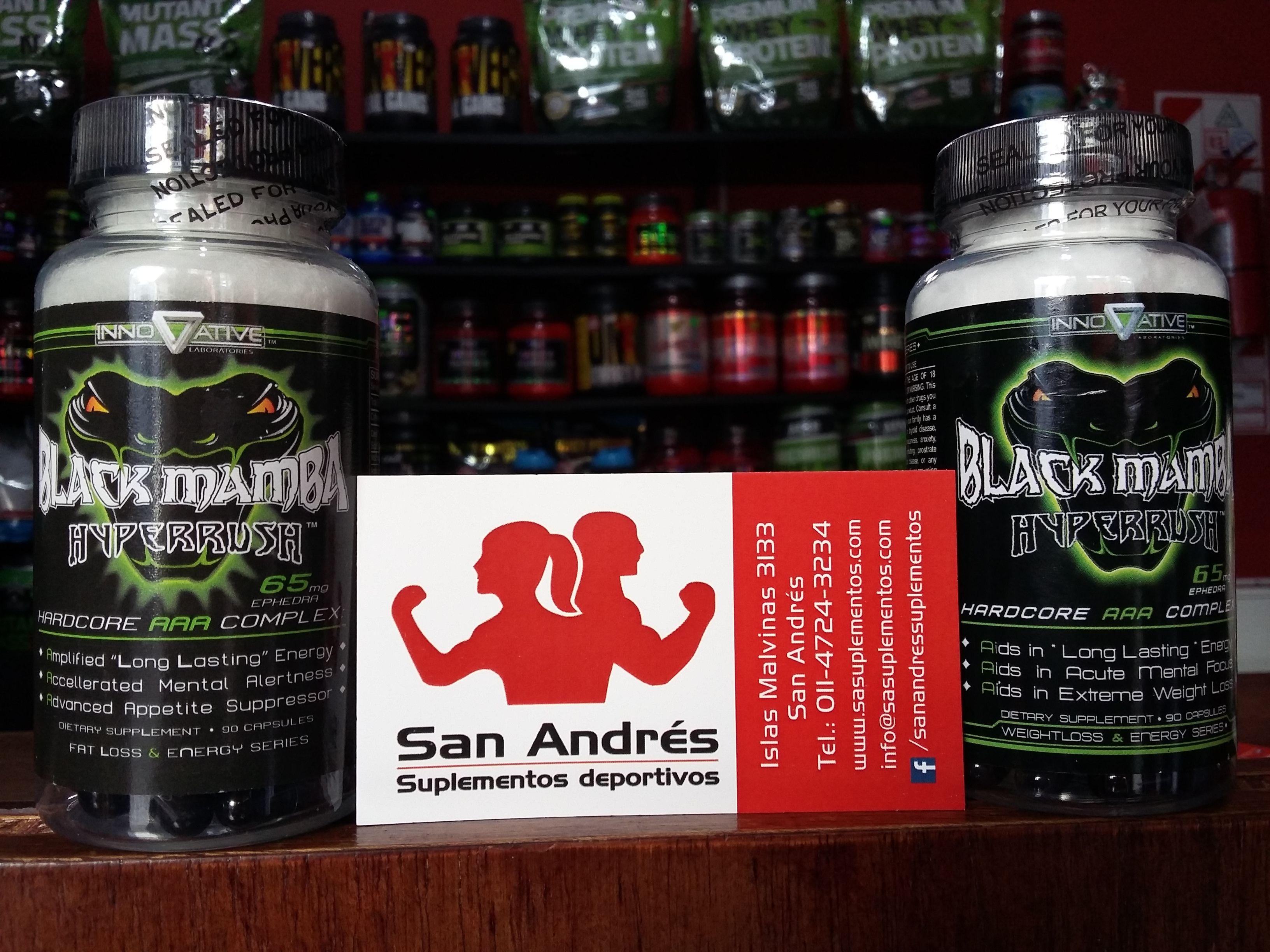 Black mamba quemador efectos secundarios