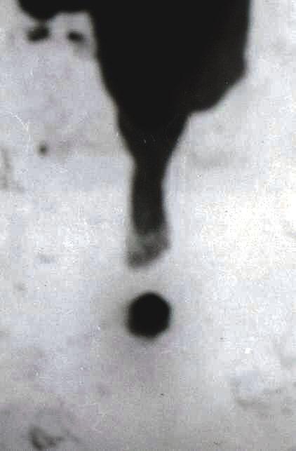 """HOLE"" with a pinholecamera taken. by F.W.Stumpfi"