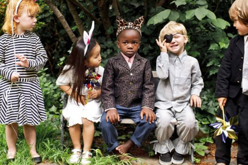 hipster kid party