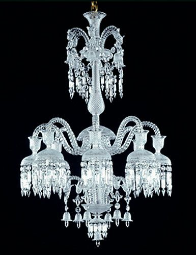 Baccarat crystal solstice crystal chandelier 8 light baccarat crystal solstice crystal chandelier 8 light canopy and chain sold separately aloadofball Images