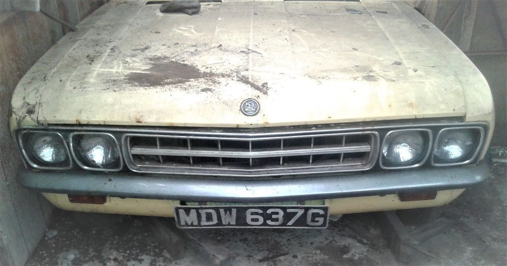 Ebay 1968 Vauxhall Ventora Convertible Barn Find Unique Car For Sale