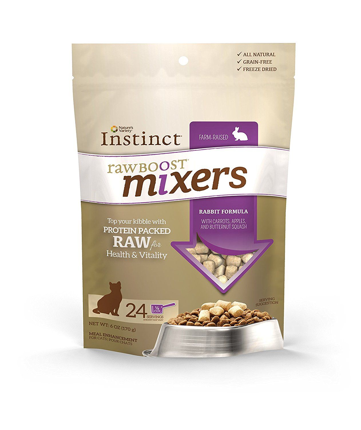 Nature's Variety Instinct Raw Boost Mixers GrainFree