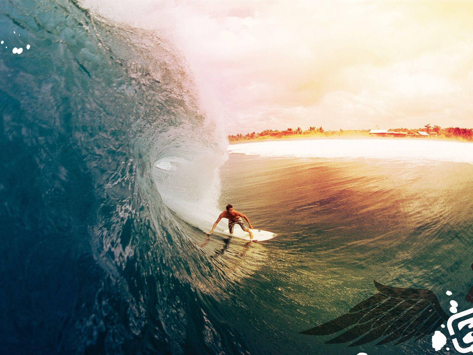 Обои доски для серфинга, солнечный, лето, Серферов. Спорт foto 8