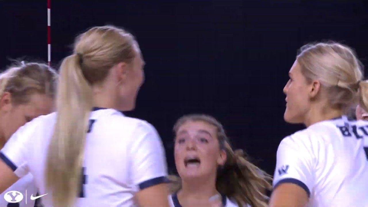 09 Assist Slam 16 Spike 54 Spike 1 11 Long Shot In 2020 Boise St Women Volleyball Long Shot