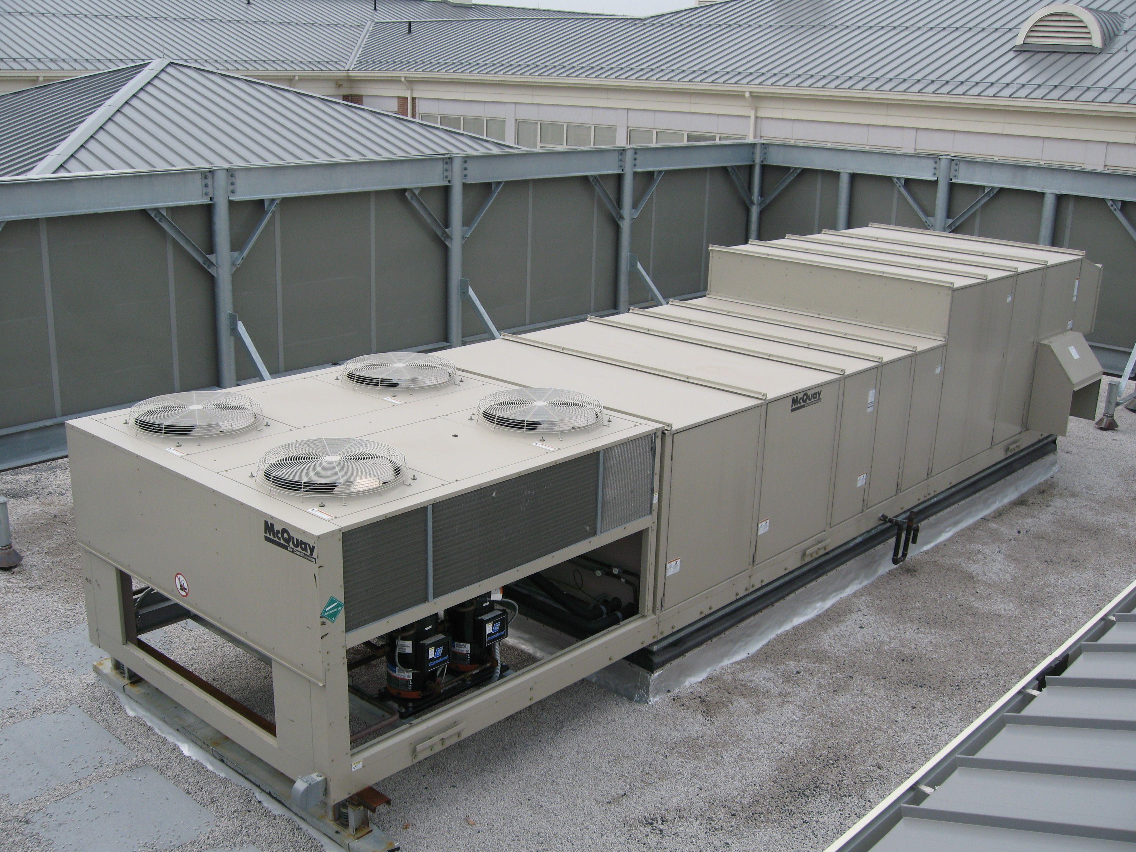 Hvac Roof Screens Amp Envisor 174 Rooftop Enclosures U0026