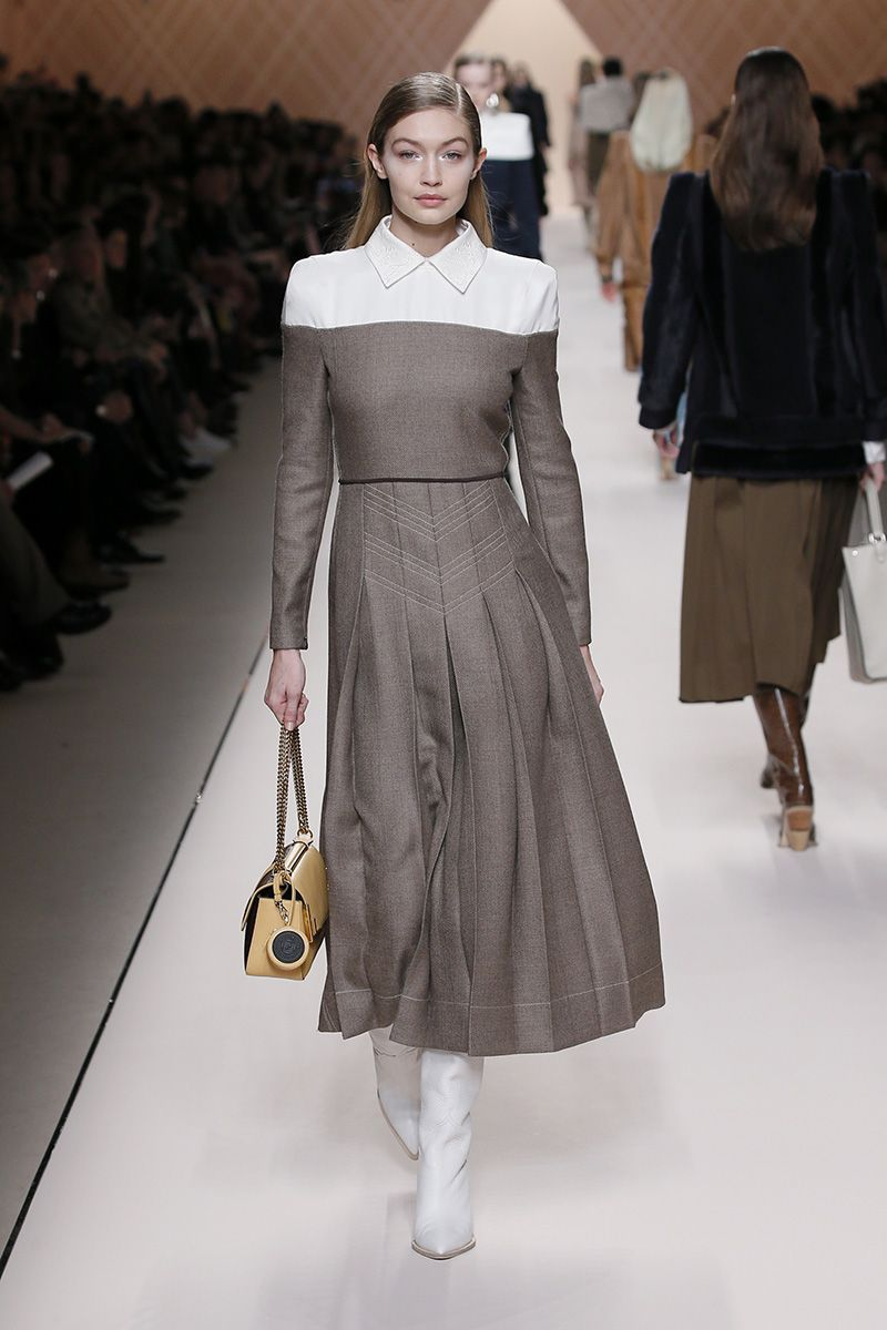 c67f671921ab46 Fendi Fall Winter 2018-19 Fashion Show  fendi  favourite