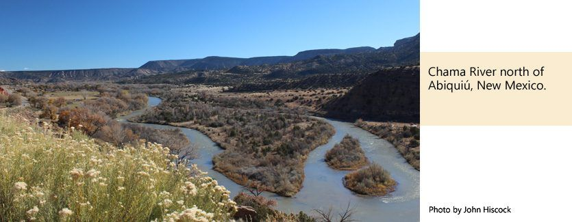 Old spanish trail association chama river new mexico