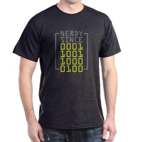 Binary Code Nerdy Since 1984 - T-Shirt