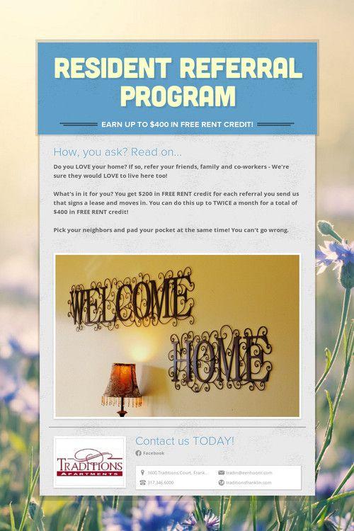 referral program flyers