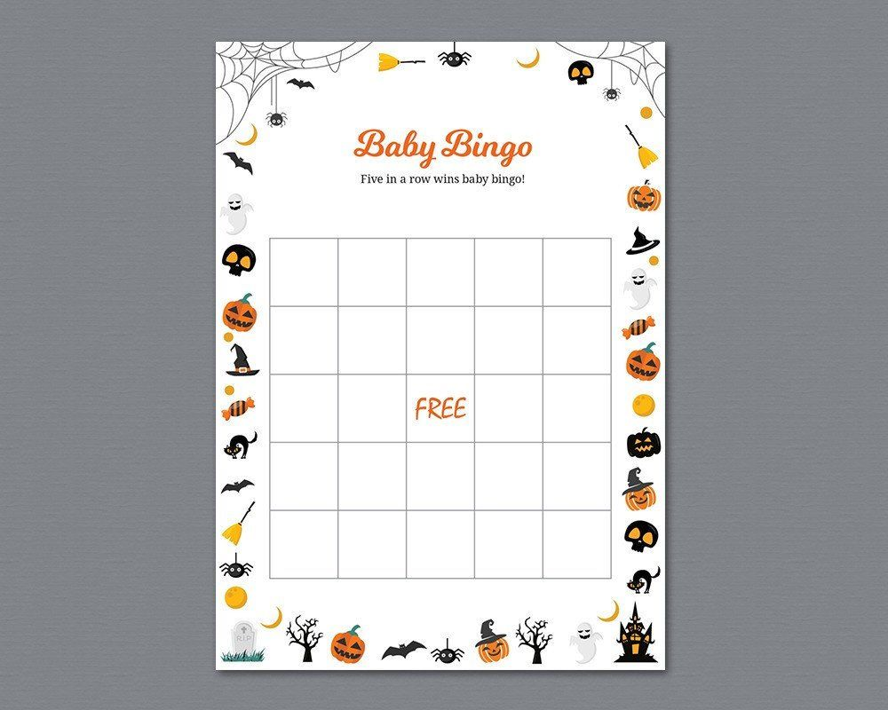 List Of Pinterest Baby Shower Games Printable Bingo Cards Images