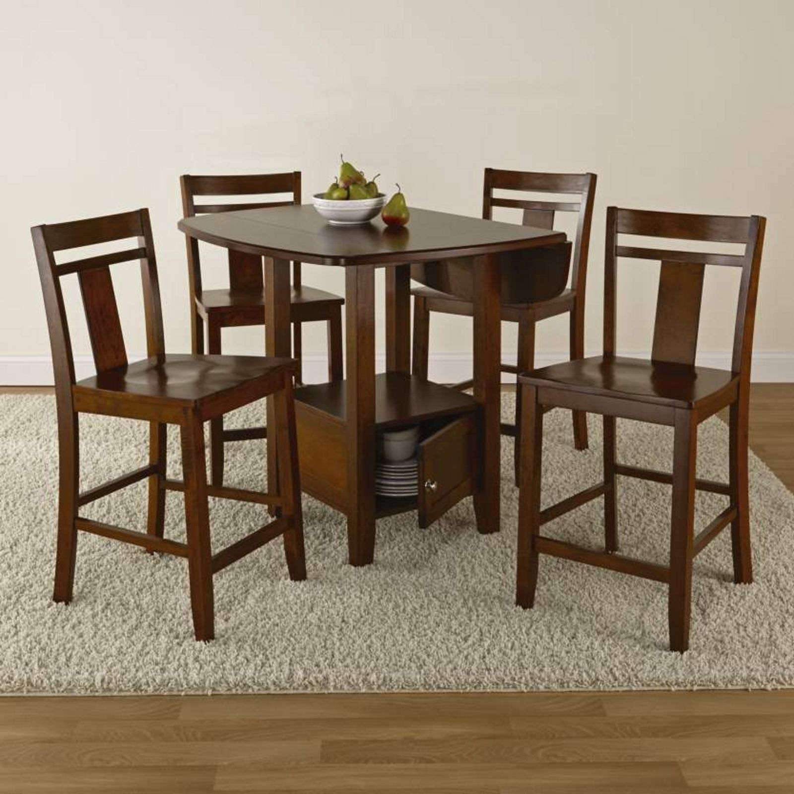 5 Pc Storage Dining Set Wel e Guests To Your Kitchen With