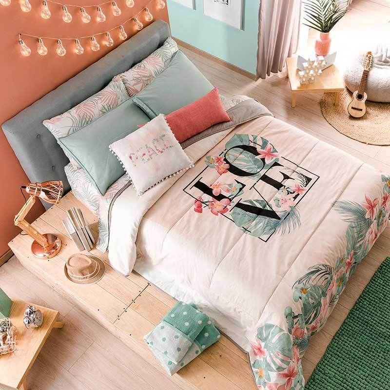 86189 Edredon Ind Love Vianney Catalogo Chavos 2019 Edredones De Cama Decoraciones De Dormitorio Edredon