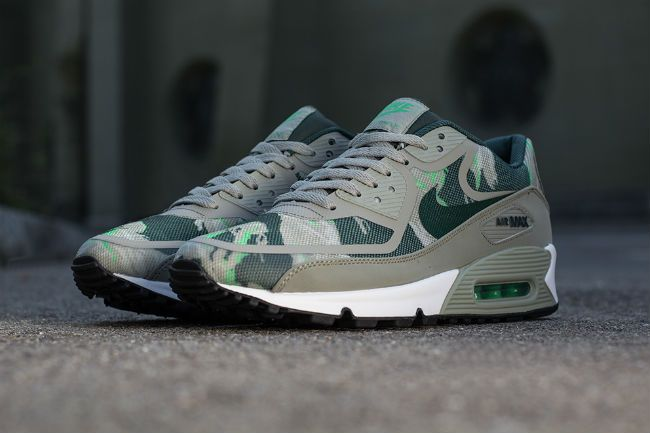 Nike Air Max 90 Premium Tape Gamma Green | Sneakers | Air