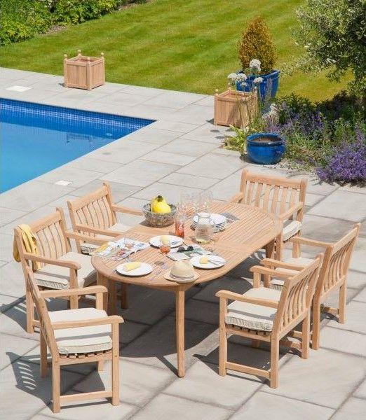 Grande table de jardin à mettre sur votre terrasse ou dans votre ...