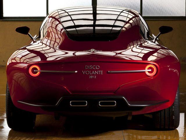 Alfa Romeo Disco Volante Touring Concept 2012 Petrolhead