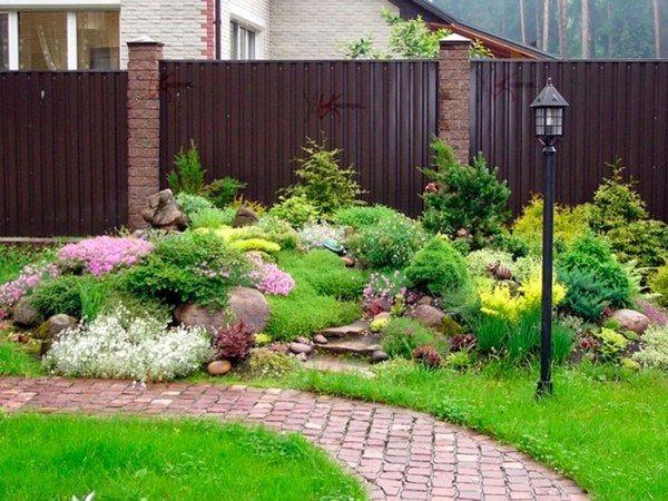 garten gestaltung-design mit steinen-pflanzen geeignet sonniger, Gartenarbeit ideen