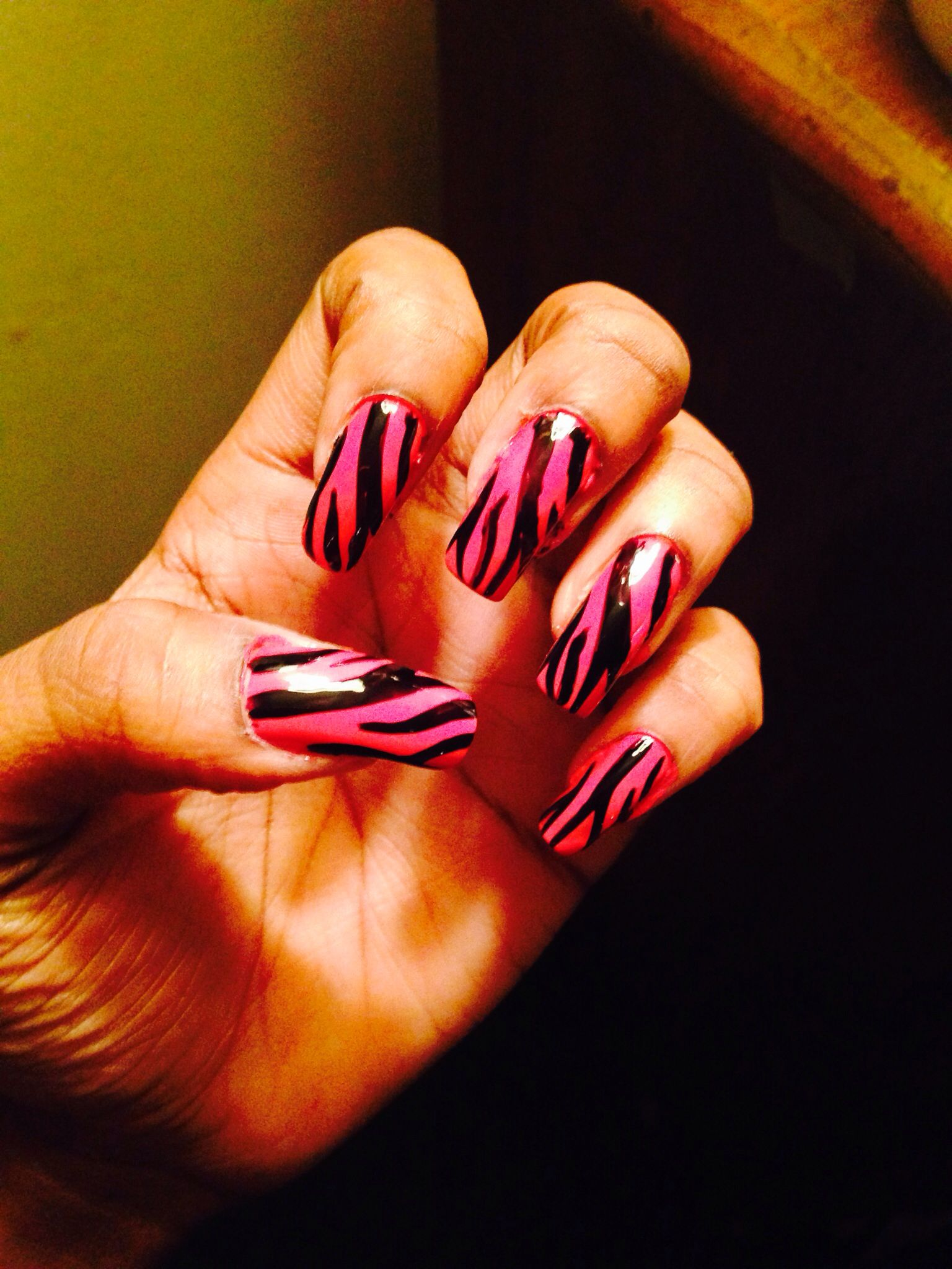 Pink zebra nails nails pinterest - Pink Zebra Pink Zebra Pink Zebrazebrasnails