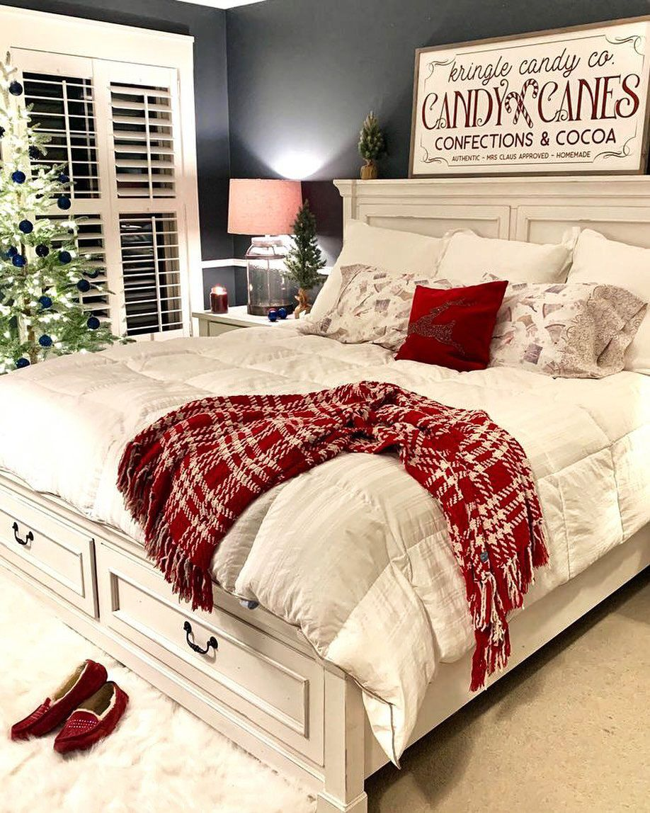 31 DIY Christmas Decorations Ideas For Living Room & New Year's Bedroom Decor