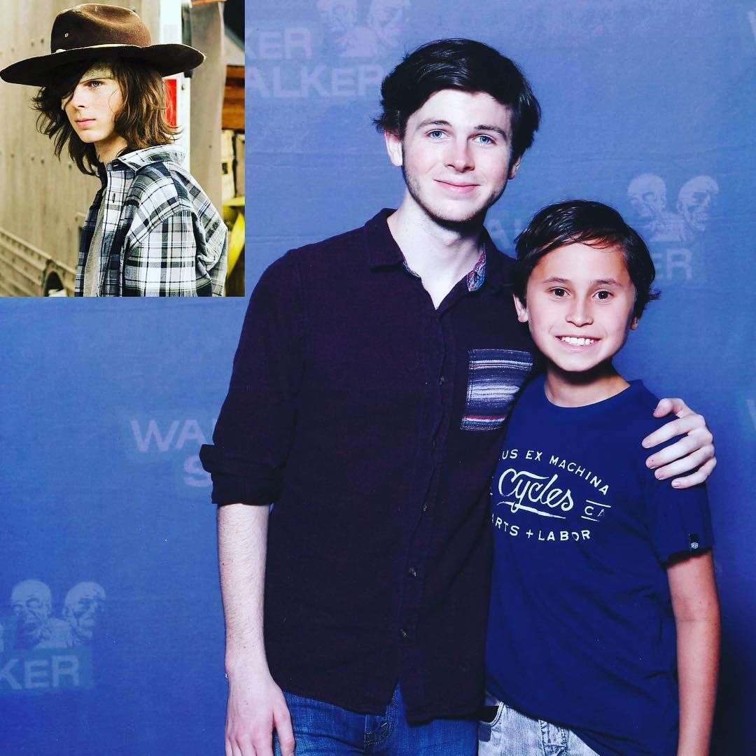 So cool to meet my favourite walkingdead actor chandlerriggs aka so cool to meet my favourite walkingdead actor chandlerriggs aka carlgrimes walkerstalkersydney2018 m4hsunfo