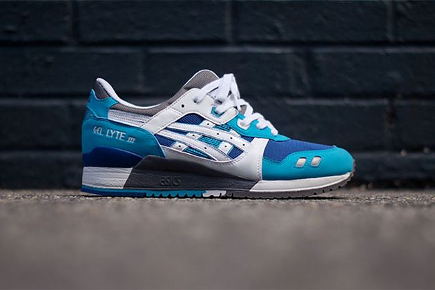 25602624fc ASICS Gel Lyte III Blue White KITH Exclusive