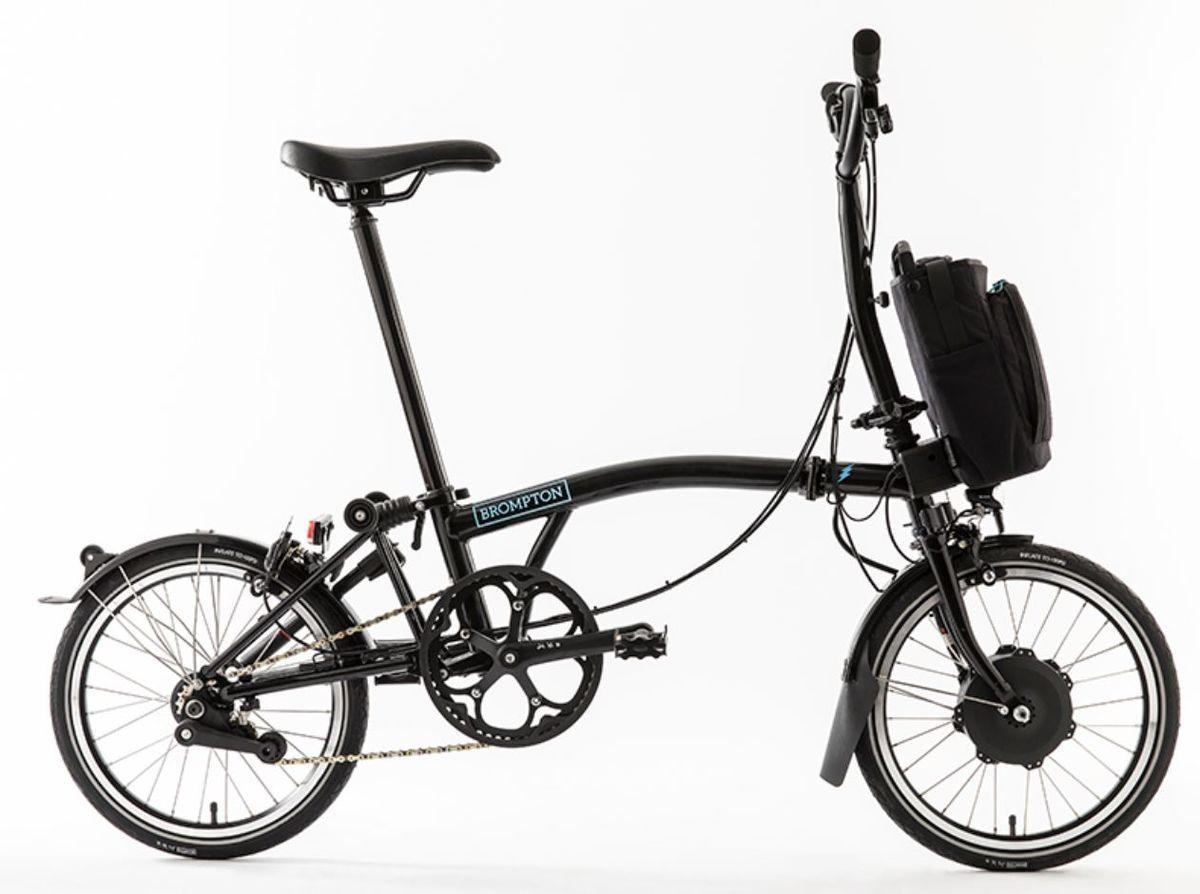 Brompton M6l Electric Bike 2018 2715 00 Folding Bikes