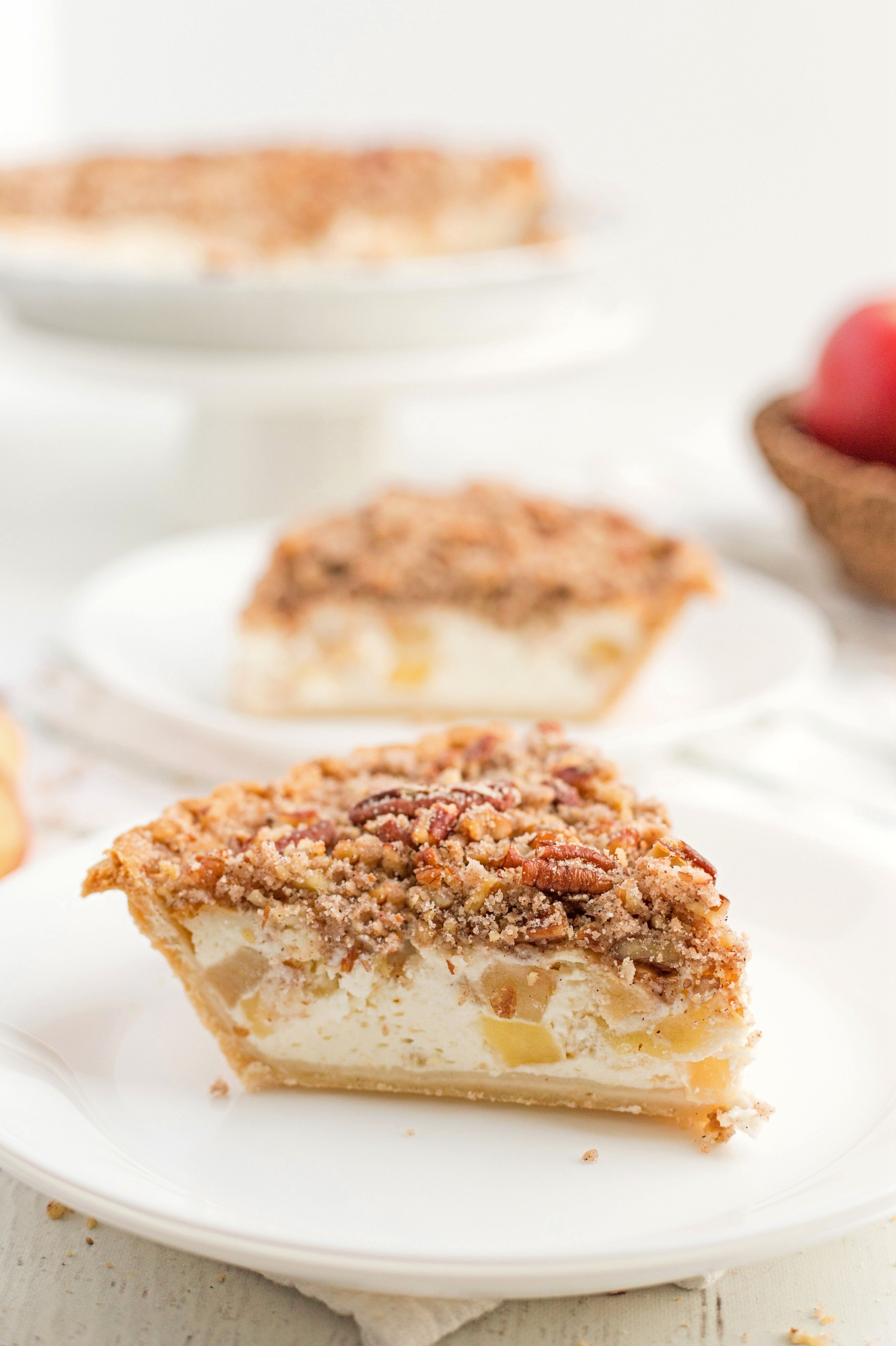 Sour Cream Apple Pie The Creamy Filling Almost Makes You Feel Like Your Eating Cheesecake And Then You Get Sour Cream Apple Pie Food Best Dessert Recipes
