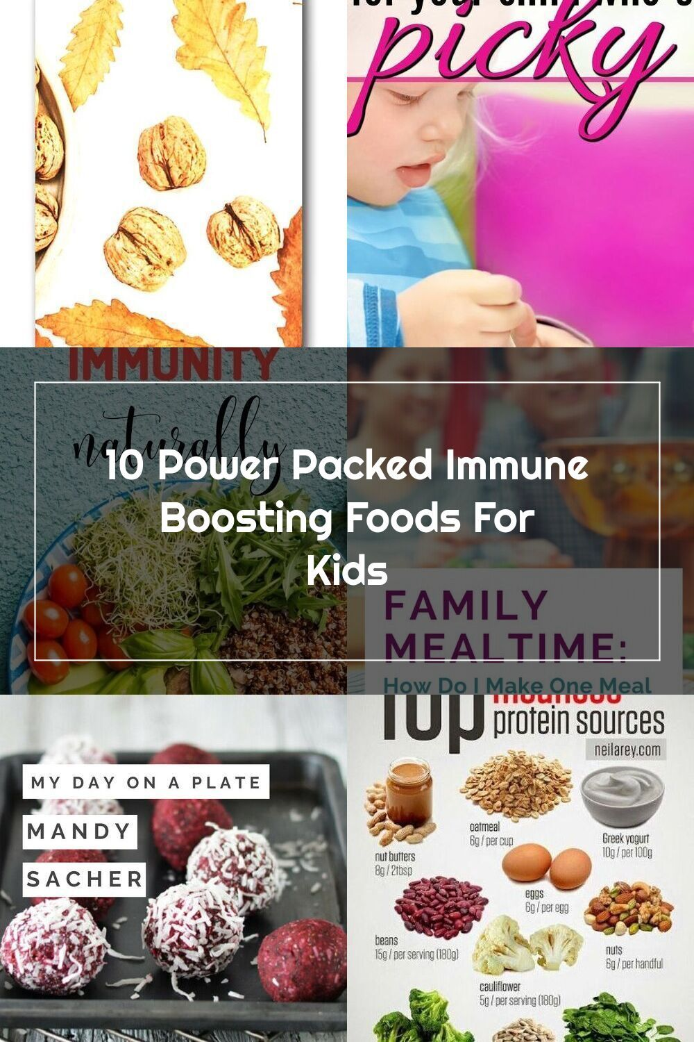 Is your child's low immunity worrying you? Here is a list