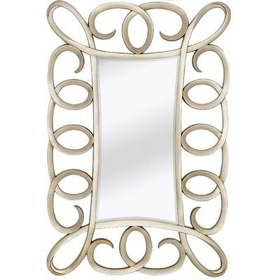 Majestic Mirror Contemporary Beveled Mirror In Antique Silver Jpg
