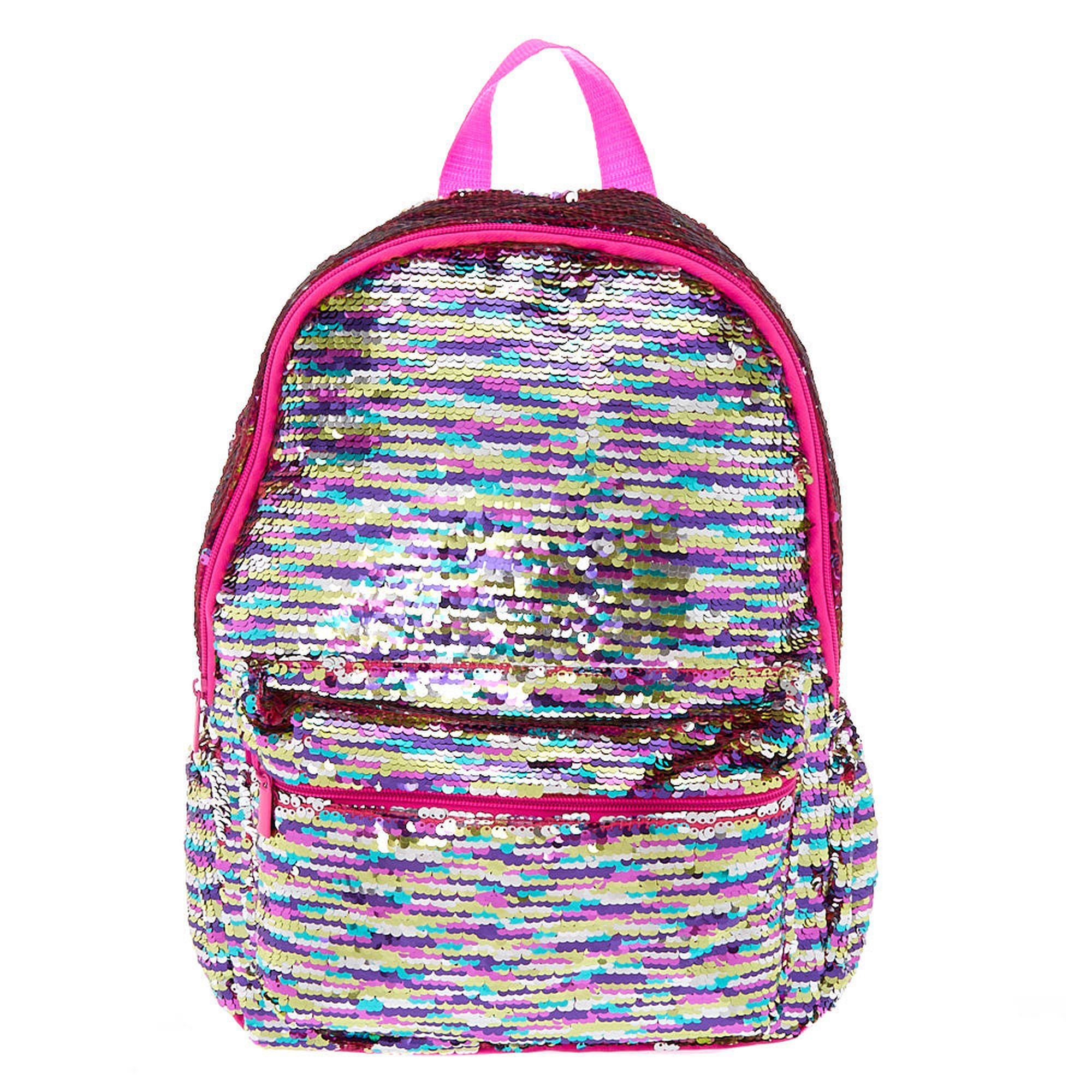 a938fb5dceeb7e Reversible Sequin Rainbow Backpack | Back 2 School in 2019 ...