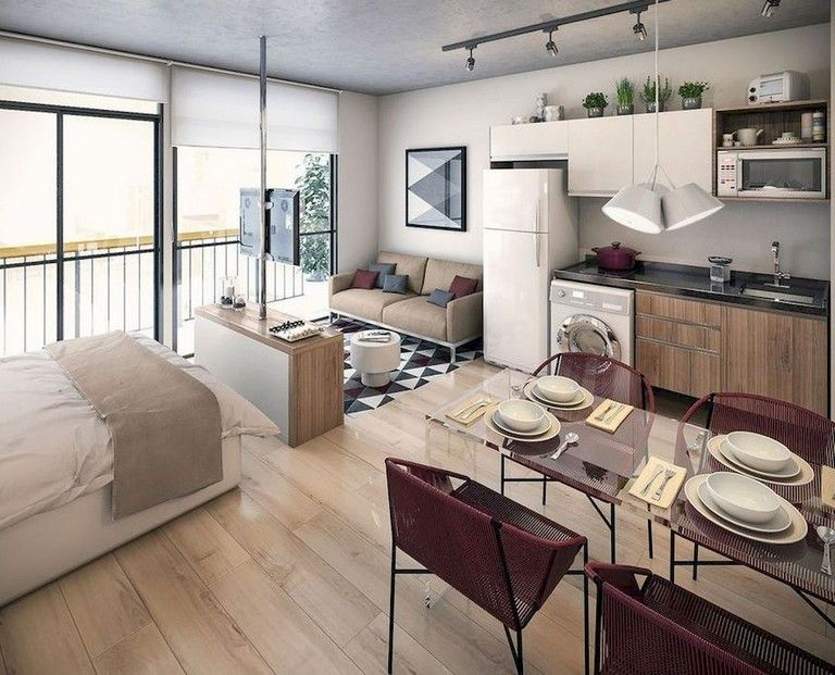 71 Smart Cute Apartment Studio Decor Ideas Apartment Layout