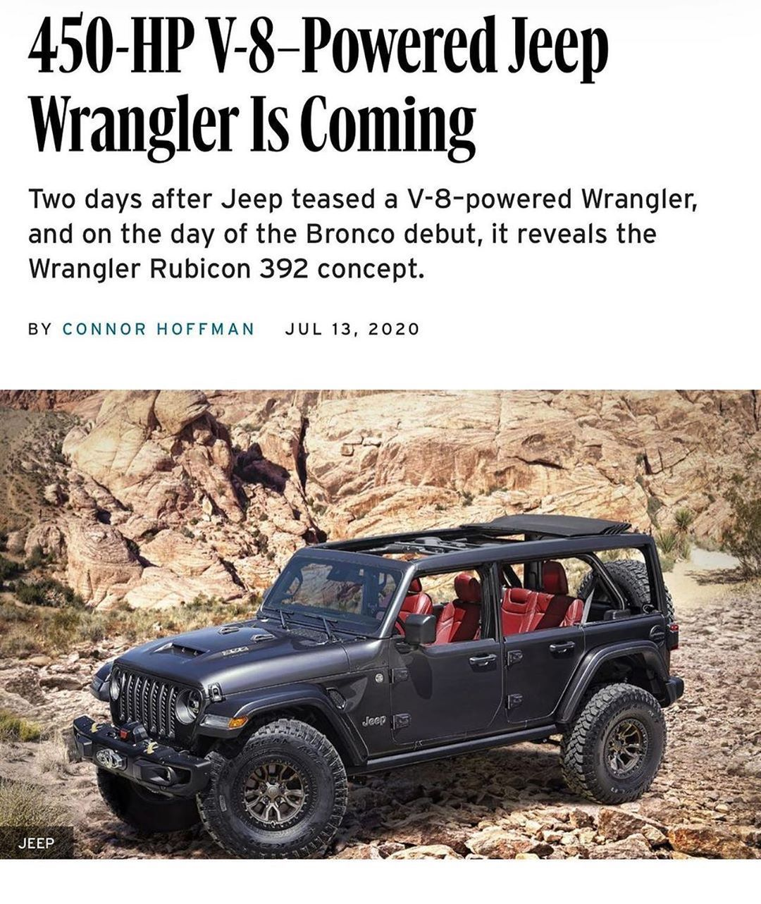 Read The Comment V8 Jeep Wrangler 2021 In 2020 Jeep Brute Jeep Wrangler Jeep