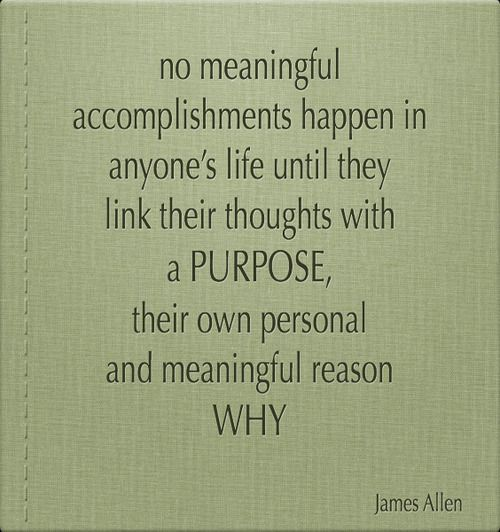 No meaningful accomplishments happen in anyone\u0027s life until they