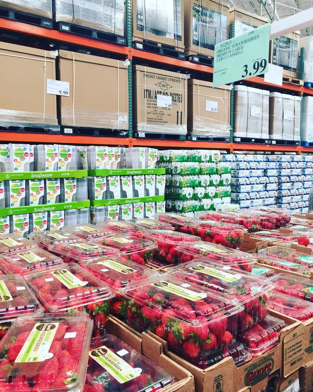 bb4b2331d9e Organic Strawberries $1.99 lb at #costco #organiccouponing #couponcommunity  #tomorrowsmom Costco, Strawberries
