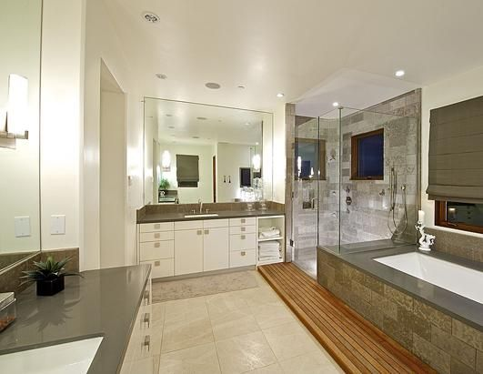 This 150 Sq Ft Bathroom Is Estimated To Cost 31 400 Zillow Contemporary Master Bathroom Master Bathroom Home Remodeling Software