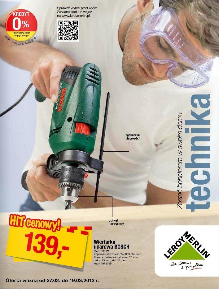 Nowa Meska Okladka Leroy Merlin Promocje Z Nowych Gazetek Znajdziesz Tutuaj Http Www Promocyjni Pl Siec 60 Leroy Home Appliances Vacuum Cleaner Vacuums